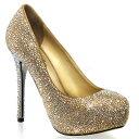 海外ブランド靴 レディース パンプス ハイヒール 5インチ12cmヒール 玉虫ラインストーン装飾