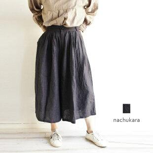メール便送料無料nachukaraナチュカラNK76702レデースファッション服大人のナチュラル服ゆったりリンネルナチュラン