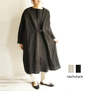 送料無料nachukaraナチュカラNK74110レデースファッション服大人のナチュラル服ゆったりリンネルナチュラン麻