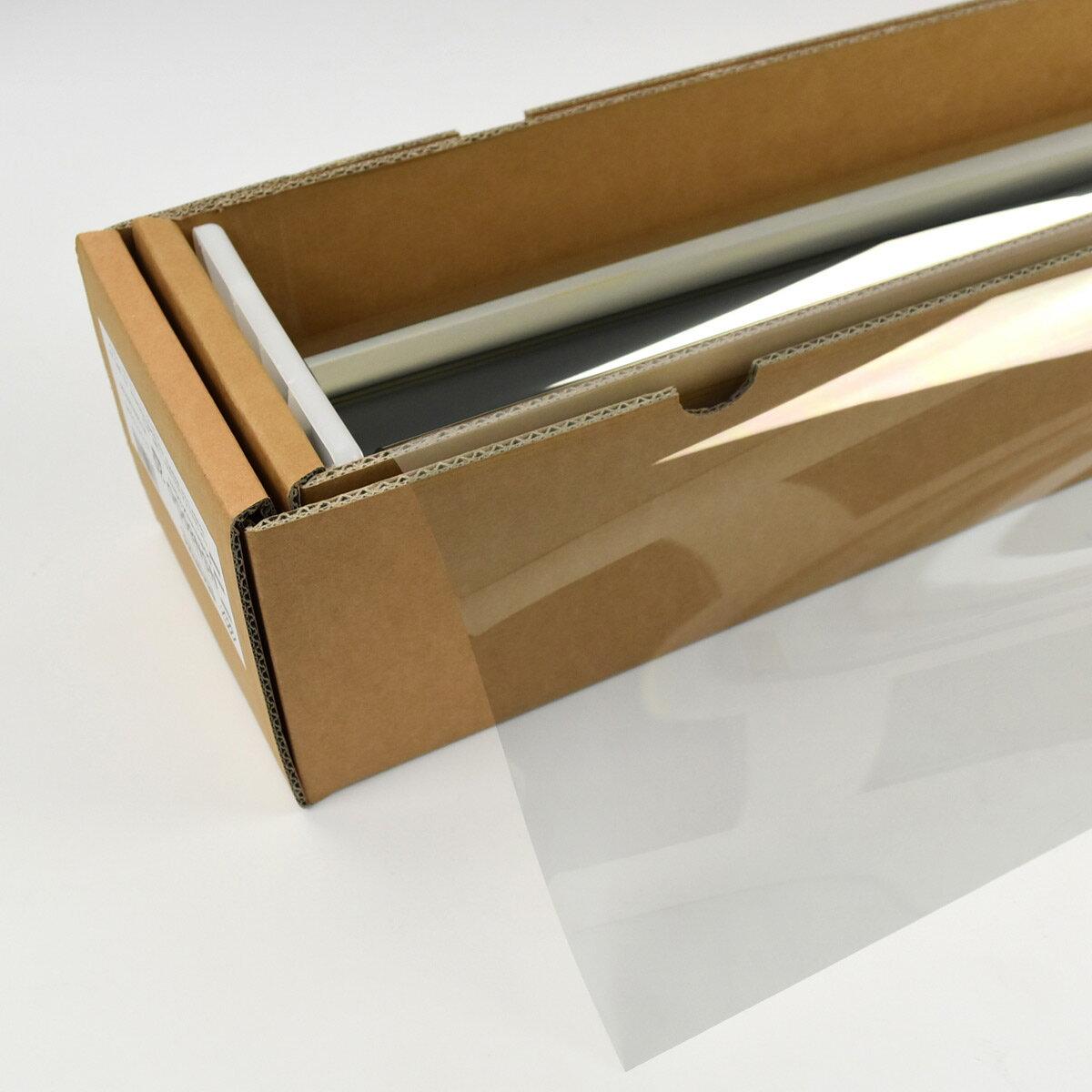 ウィンドウフィルム 窓ガラスフィルム スパッタゴールド80 1.5m幅×30mロール箱売(020) 遮熱フィルム 断熱フィルム UVカットフィルム ブレインテック Braintec:カーフィルム スモーク Braintec