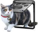 国内発送 OWNPETS ペットドア 網戸専用 網戸用ペットの出入り口 取付簡単 猫、小型犬用 取り付け説明書...