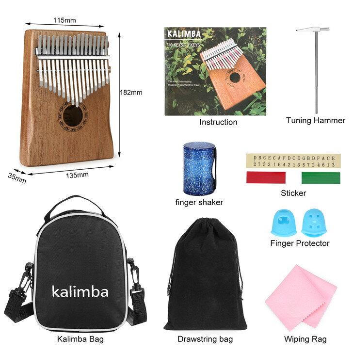 カリンバ10セット カリンバ+バッグ
