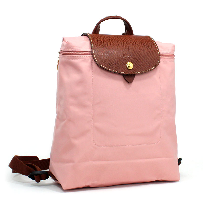 c01c46842059 ロンシャン LONG CHAMP バックパック リュックサック ル・プリアージュ ローズ ピンキー ペールピンク Le Pleage Back  Pack Rose L1699 089 A26 【新品 / 正規 ...