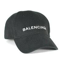 バレンシアガ BALENCIAGA キャップ ブラック ベースボールキャップ ユニセックス Lサイズ HAT BASEBALL BLACK 499071 410B7 1077 L