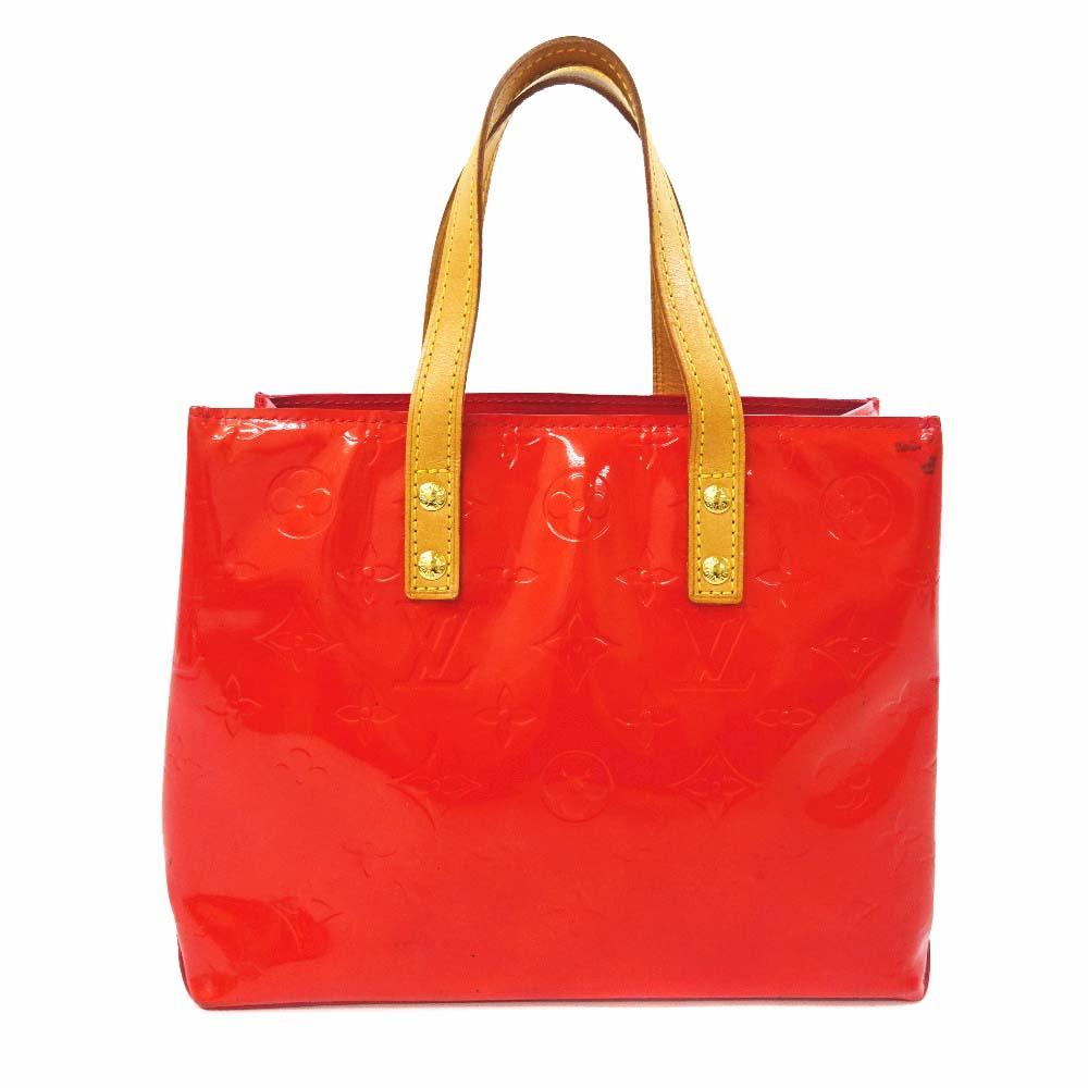 產品詳細資料,日本Yahoo代標|日本代購|日本批發-ibuy99|包包、服飾|包|女士包|手提包|【中古】LOUIS VUITTON ルイ ヴィトン モノグラム ヴェルニ リードPM ハンドバッグ…