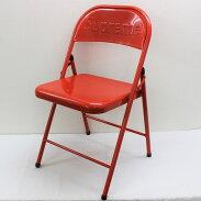 【未使用】Supremeシュプリーム20AWMetalFoldingChairメタルフォールディングチェアーパイプ椅子レッド【中古】赤坂店A20-910A