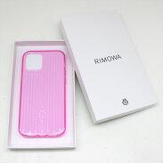 RIMOWAリモワiPhone12/12Proケースカバークリアピンク【中古品】N21-1621中洲店