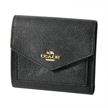 コーチ COACH 58298 Li/Black(LIBLK) 三つ折り ミニ財布  SMALL WALLET