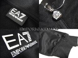 EMPORIOARMANEA7エンポリオアルマーニフルジップトラックジャケットブラックメンズ未使用【中古】新品