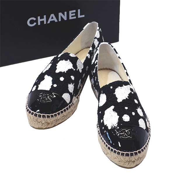 レディース靴, その他 CHANELZG308983924.5cm440-34