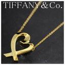 【本物】TIFFANY&Co.★ティファニー★750YG★ラビングハー...