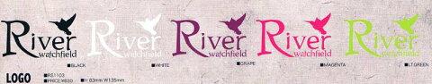 River・リバー/RIVERビーニー・ニット・帽子・マスク・バンダナ【STICKER・ステッカー】アイテム:LOGO