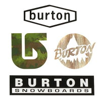 BURTON/バートンBURTONバートンステッカーThrowbackStickerPack4枚セットレビュー書いてDM便配送送料無料!