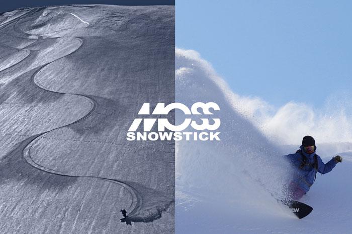 19FW  MOSS SNOWSTICK『APPT/エーピーピーティー』モス スノーステック/モススノーステック/SNOW SURFING/スノーサーフィン豪華特典多数有ります♪