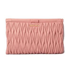 Miu Miu Clutch Bag/Pouch miumiu Materase Light Pink/ORCHIDEA RP0390 [Used] Gift Present