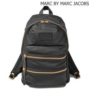 MARCBYMARCJACOBS(マークバイマークジェイコブス)2WAYストラップ付ミニボストンバッグロゴ/ブラックマルチ