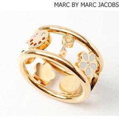 マークバイマークジェイコブス MARC BY MARC JACOBS リング/指輪 ハッピーハウス ゴールド/ベージュ M0005807