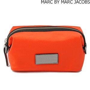 マークバイマークジェイコブス コスメポーチ MARC BY MARC JACOBS ドーモ アリガト ランドスケープ オレンジ M0006038
