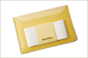 ミュウミュウmiumiu長財布