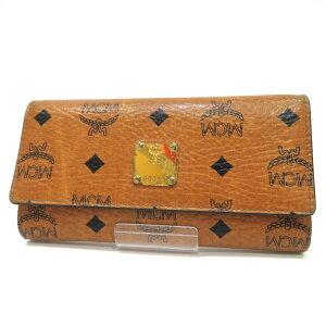 MCM MCM钱包长钱包三折标志图案B等级G8355黄色黄色女士使用明天音乐[免费送货]散打商店
