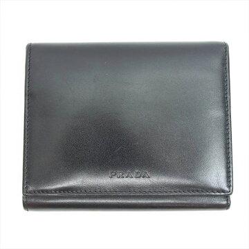 PRADAプラダ二つ折り財布【中古】