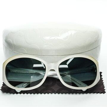 COACHコーチサングラスALBERTAサングラスS845プラスチック【美品】【中古】