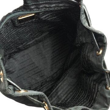 PRADAプラダキルティングバックパックB3819ナイロンレディースバッグバックパック・リュック【中古】