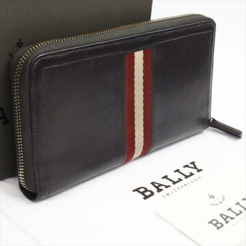 BALLYバリーレザーメンズ財布長財布(小銭入れあり)【中古】