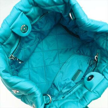 [美 品] PRADA Prada Bomber Fabric Tote BN 271 Nylon Ladies Bag Tote Bag [pre]