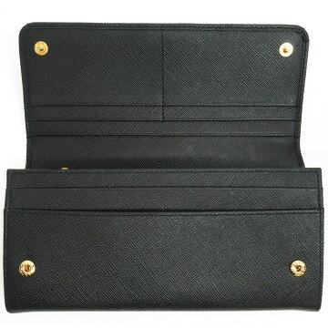[Unused / Second-hand Goods] PRADA Prada Folded Pass Case with Ribbon Wallet Saffiano Fiocco 1 MH132 Women's Wallets Long Wallet (Coin Purse Available) [Pre]