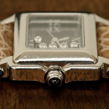 ショパールCHOPARDハッピースポーツ腕時計中古