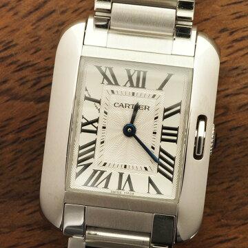 カルティエCartierタンクアングレーズ腕時計中古