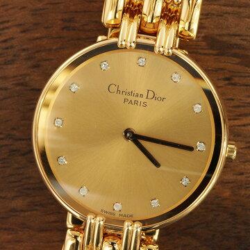 ディオールChristianDiorバギラ腕時計中古