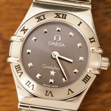 オメガOMEGAコンステレーションマイチョイスミニ腕時計中古