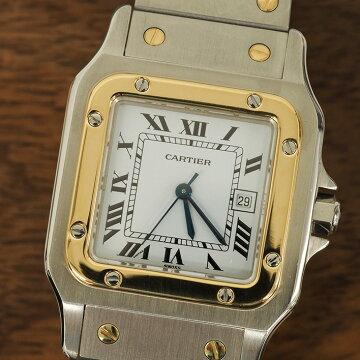 Cartierカルティエサントスガルベ腕時計中古