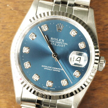 ROLEXロレックスデイトジャスト腕時計中古