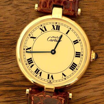 Cartierカルティエマストヴェルメイユ腕時計中古