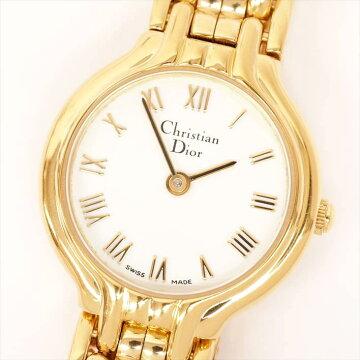 【ポイント3倍】ChristianDior腕時計修理保障付中古