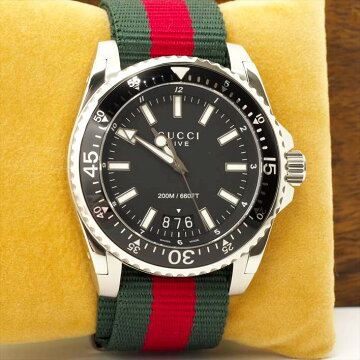 [Points 3 times] GUCCI Dive DIVE Wrist Watch Used