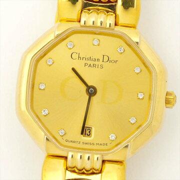 【ポイント3倍】ChristianDior48.153740160腕時計中古
