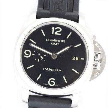 【ポイント3倍】PANERAIパネライルミノール1950GMT3デイズPAM00320【中古】