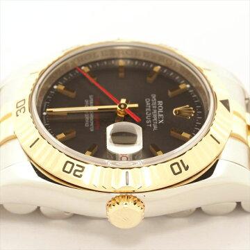 ROLEXロレックスデイトジャストターノグラフ116263D023159(2005年製造)【新品仕上げ済み・中古】腕時計