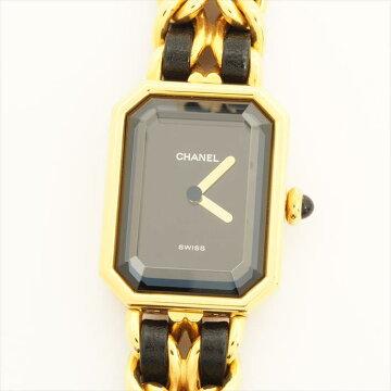 CHANELシャネルプルミエールXLF.H.36699【中古】腕時計