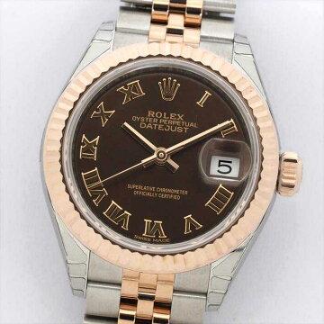 ROLEXロレックスデイトジャスト2791712721N178(ランダム2017年製)【中古】腕時計