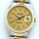 【オーバーホール・新品仕上げ済み】ROLEX ロレックス デイトジャスト 16233 R998902(1988年)【中古】腕時計
