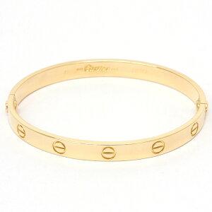 أساور كارتييه K18 YG الذهب الأصفر كارتييه السيدات الاكسسوارات والمجوهرات المستخدمة شحن مجاني