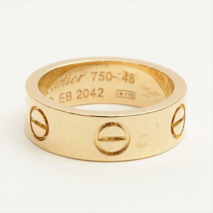 レディースジュエリー・アクセサリー, 指輪・リング  LOVE K18PG 46474849505152GOODA