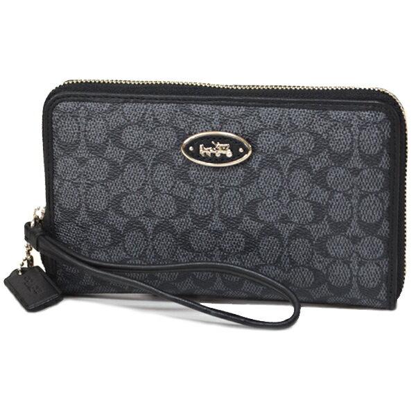b4e49fb8be コーチから便利で可愛いコンパクト財布が登場!iPhoneが収納できる大きめポケットが付いたアメリカ限定の珍しいお財布です!内側にはカードポケットなど収納面も充実  ...