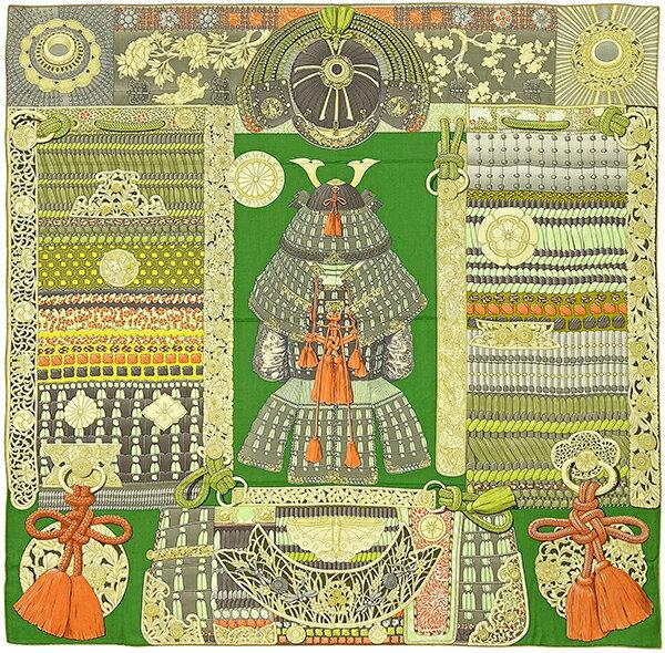 マフラー・スカーフ, レディーススカーフ HERMES 140 Parures de Samourais 140cm