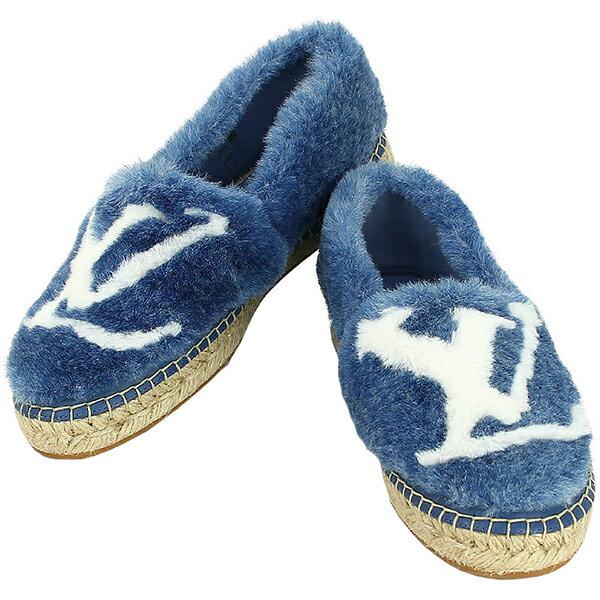 レディース靴, スリッポン  35.5 22.5cm LV LOUIS VUITTON 2019